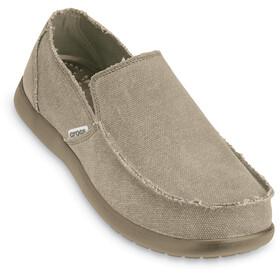 Crocs Santa Cruz Slip-On Heren, khaki/khaki